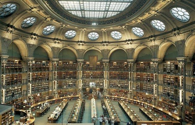 biblioteca nazionale francese