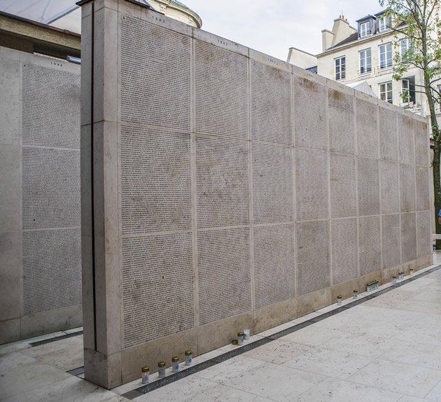 Memoriale della Shoah di Parigi 2