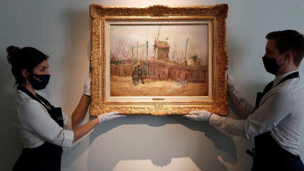 Il dipinto parigino di Van Gogh viene esposto al pubblico per la prima volta 2